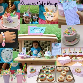 Unicorn Cafe Scene Setting