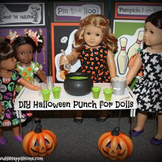 DIY Halloween Punch for Dolls