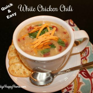 Quick White Chicken Chili