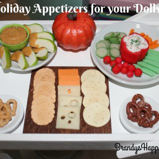 Holiday Appetizers for your Dolls