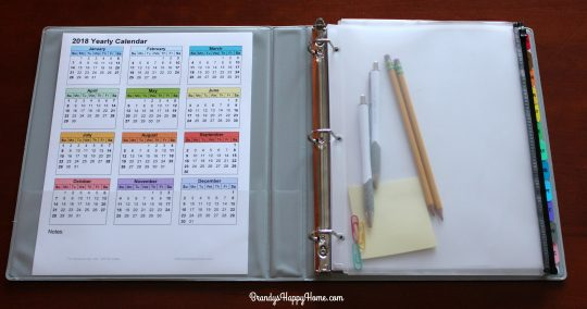 Diy Yearly Calendar : Diy calendar planner