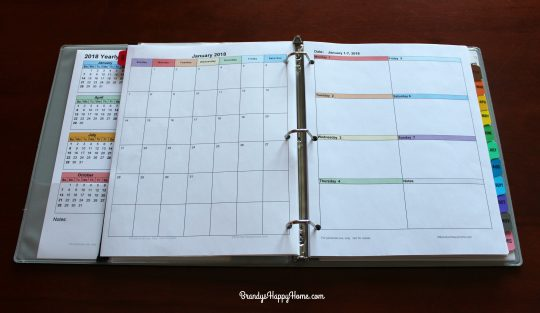 Diy Calendar Excel : Diy planner templates free do it your self