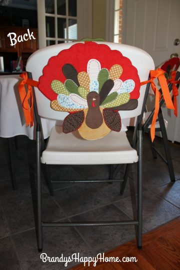 Diy No Sew Chair Covers