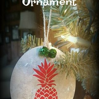 DIY Galvanized Ornaments