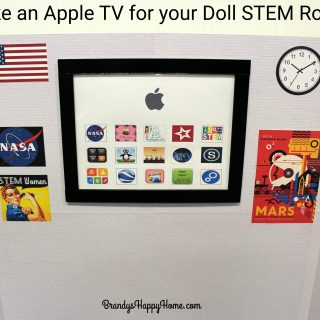 How to Make an Apple TV for your Doll STEM Room