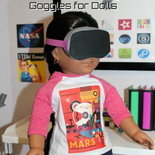 DIY Virtual Reality Goggles for Dolls
