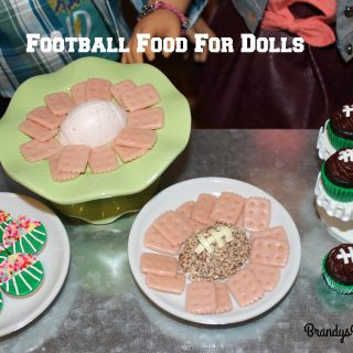 Football Food for Dolls