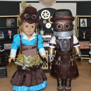 Meet Penelope & Jacques from the Toothsome Chocolate Emporium!