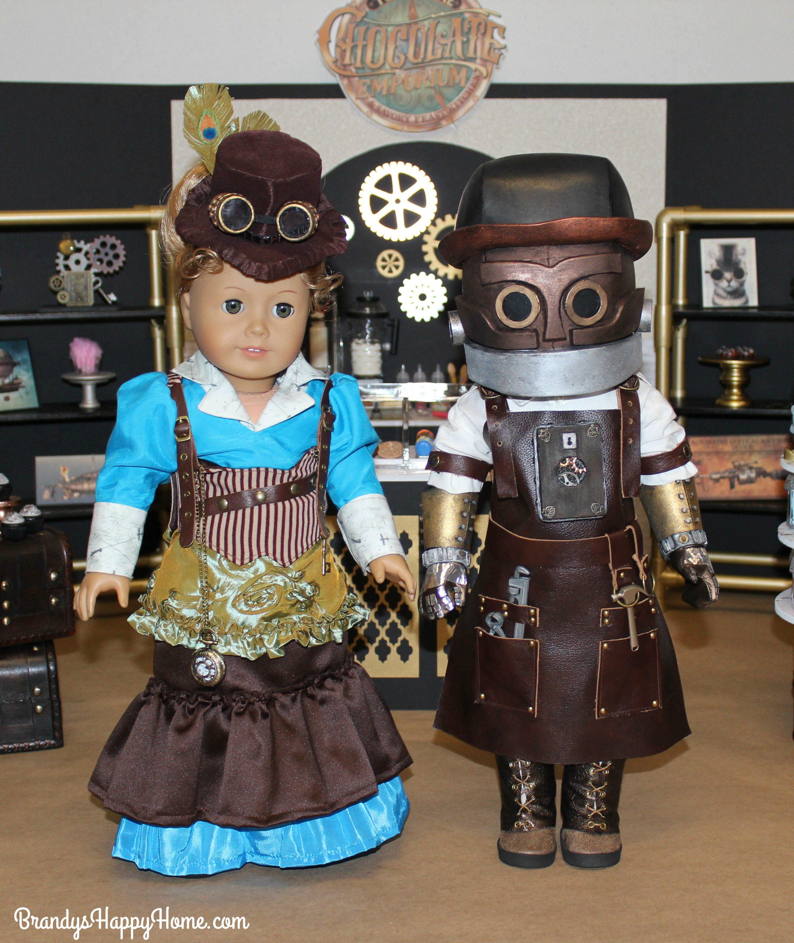 Meet Penelope & Jacques From The Toothsome Chocolate Emporium