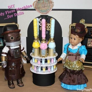 Toothsome Chocolate Emporium for Dolls…DIY Candy Floss Machine!
