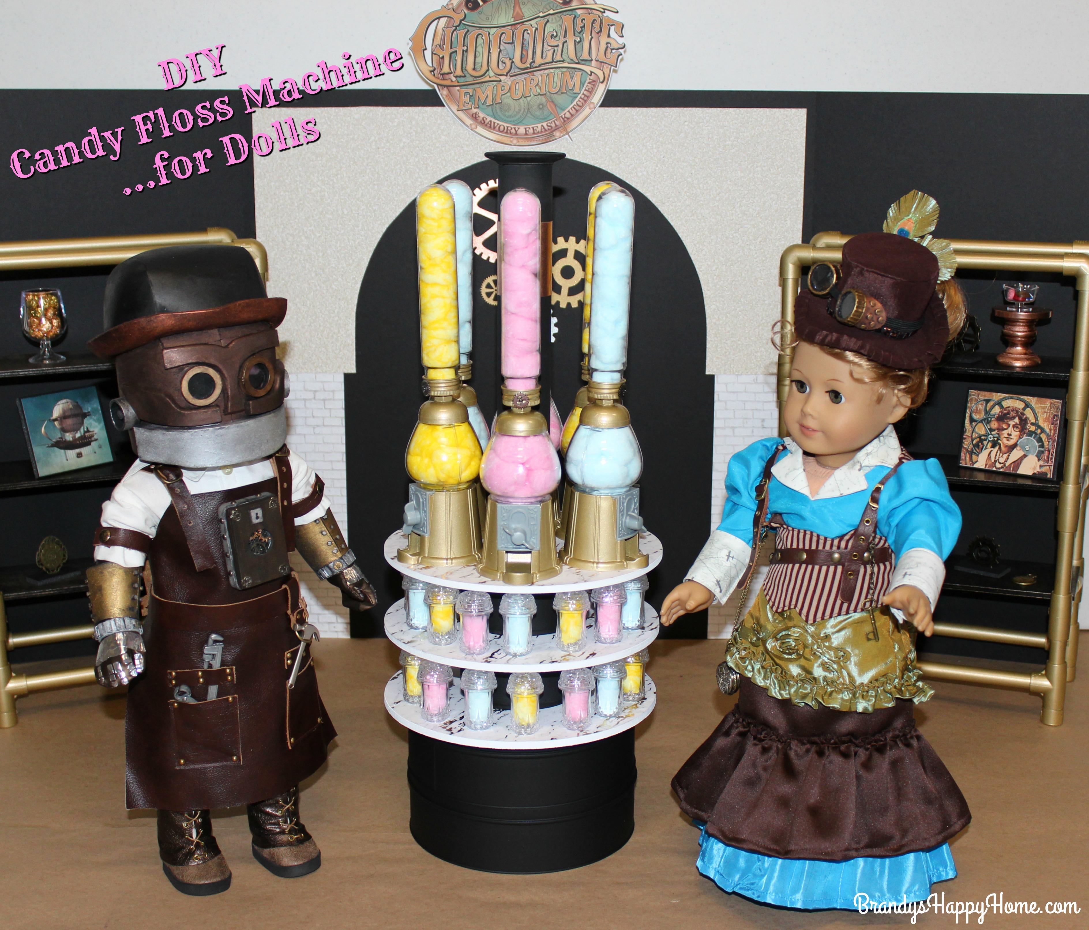 Toothsome Chocolate Emporium For Dolls Diy Candy Floss Machine
