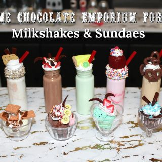 Toothsome Chocolate Emporium for Dolls…DIY Milkshakes & Sundaes!