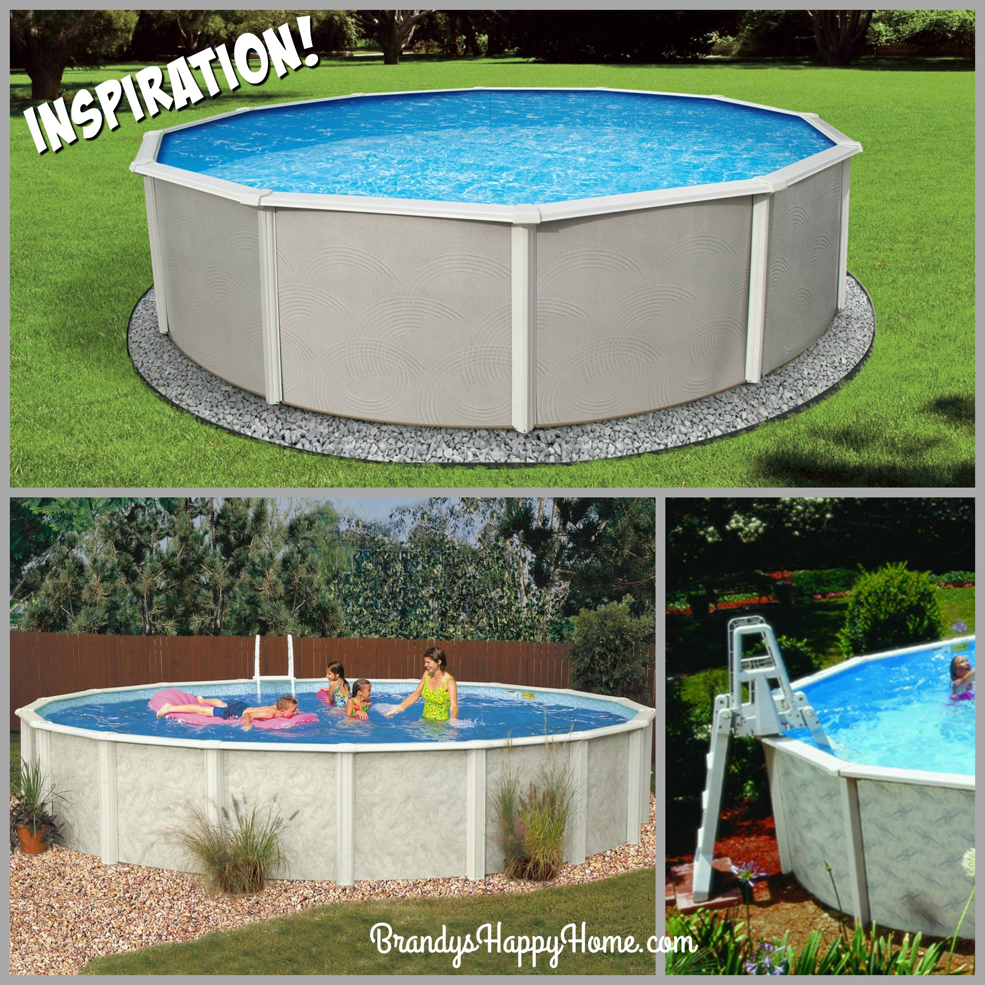 How to Make a Swimming Pool & Ladder for your American Girl ...