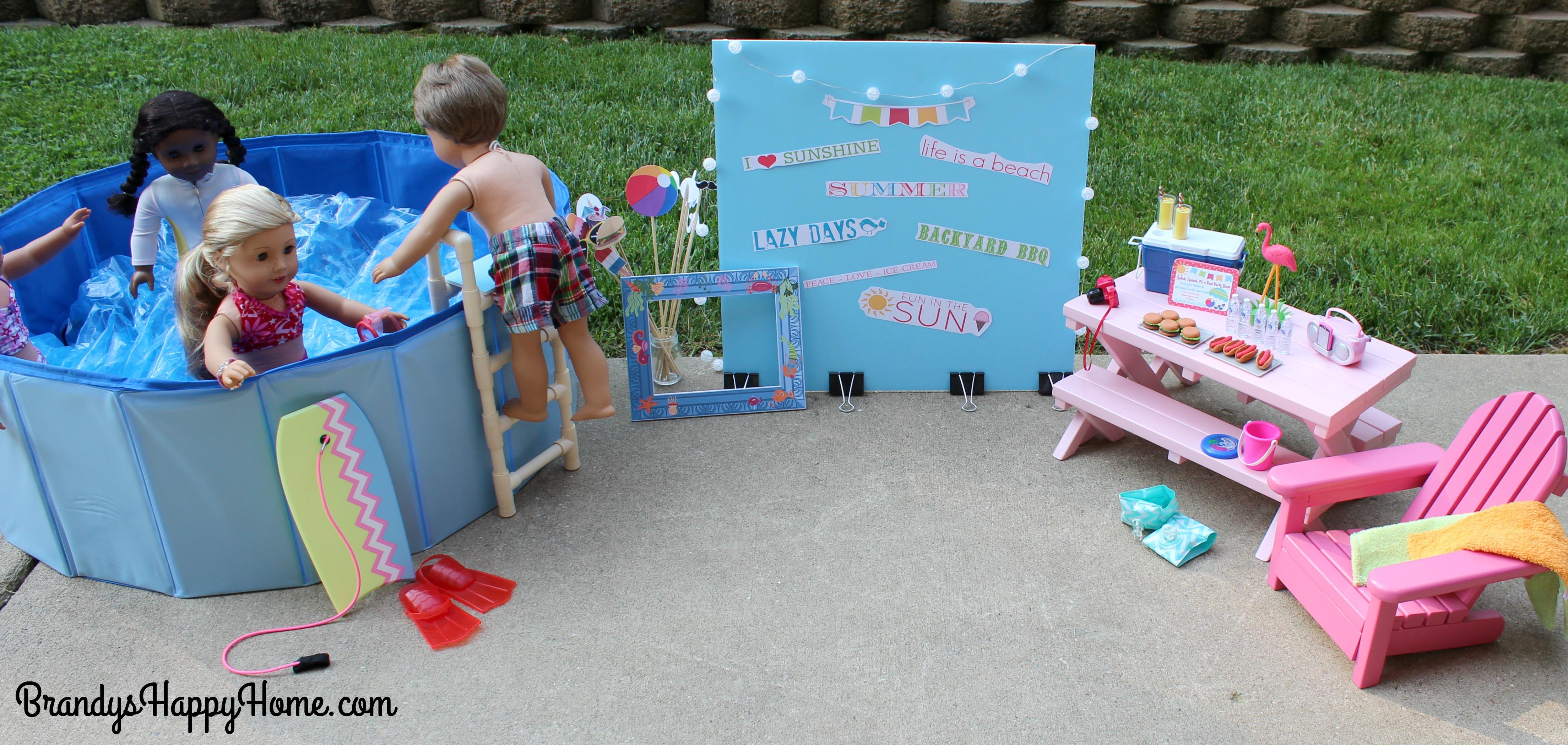 American Girl Doll Setup Room