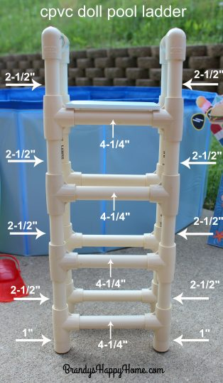 How To Make A Swimming Pool Ladder For Your American Girl Dolls