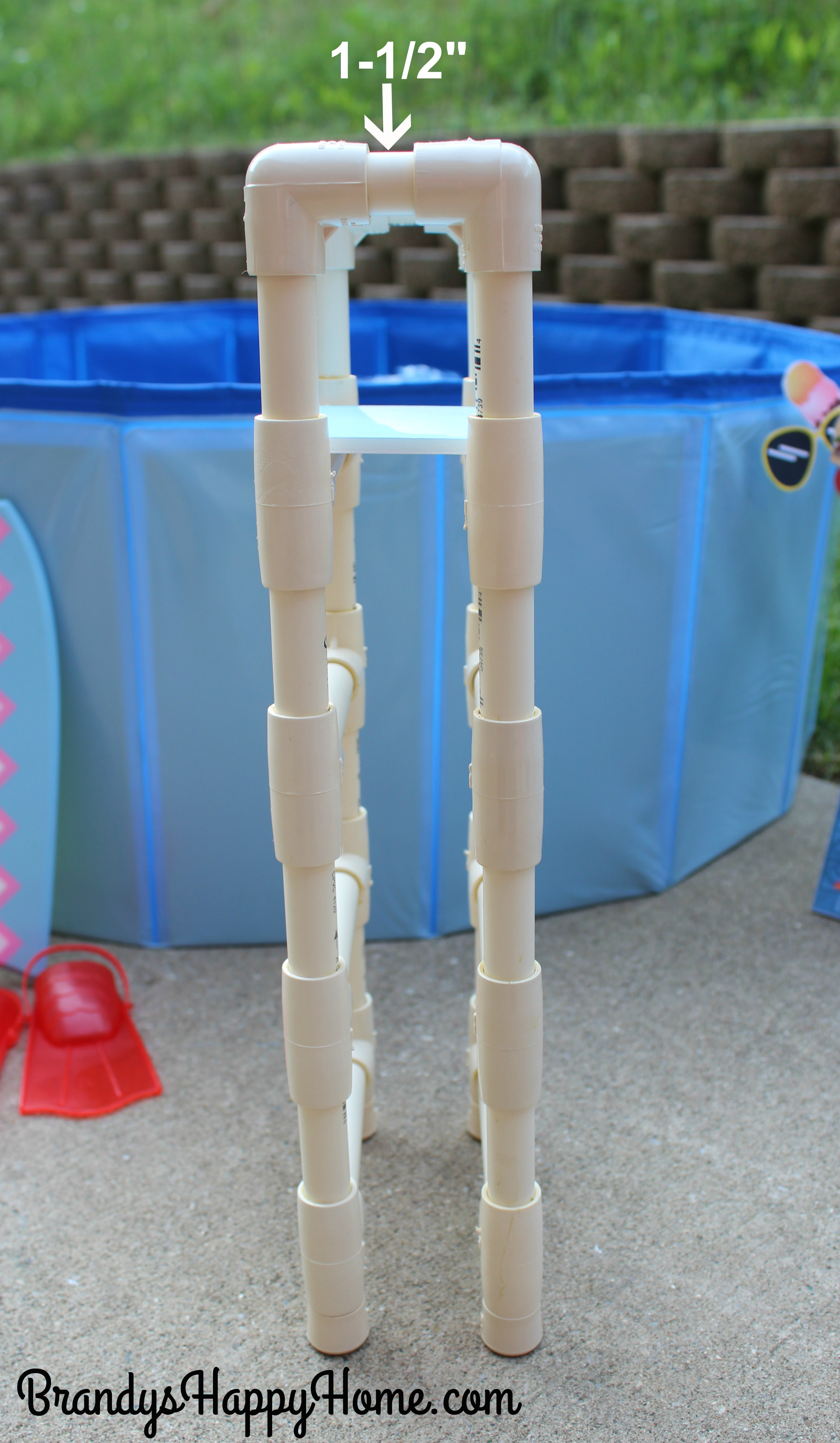 How To Make A Swimming Pool Amp Ladder For Your American